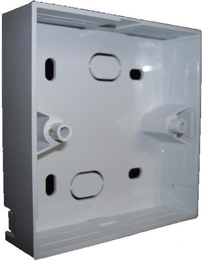 Surface Mount Back Box (Single Gang for NTE5 etc)