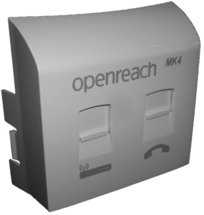 Mk4 VDSL faceplate