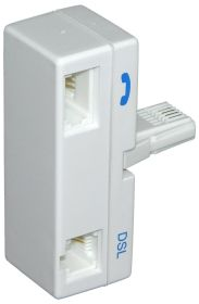 ADSL Filter (BT Plug to BT Socket/RJ11) Plugin