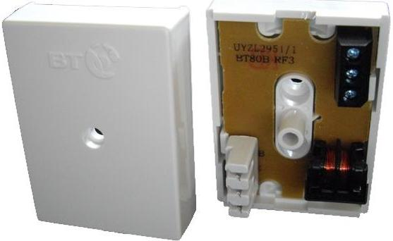 BT 80B RF3 Junction Box (3 way IDC to 3 way screw Connectors) REIN Filter