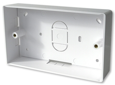 Surface Mount Back Box (Double Gang)