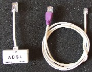 BT/ADSL to RJ45 Patch Kit-Filtered Faceplate Version