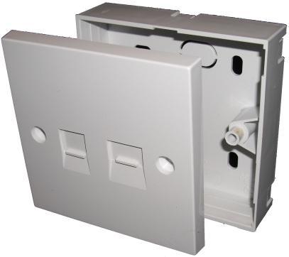 Filtered BT socket with RJ45 port