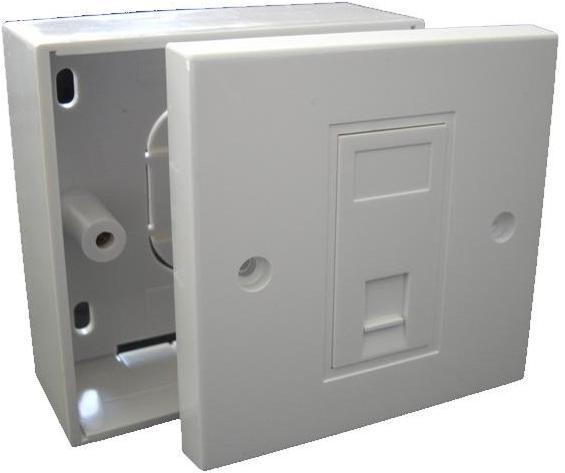 RJ11 Socket with Backbox