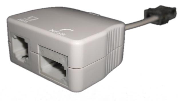 RJ45 ADSL Filter (Flylead) Front
