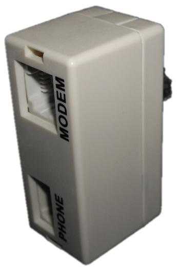 RJ45 ADSL Filter-Front