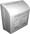 Openreach™ MK4 VDSL Plate & NTE5C Socket - Combined Unit