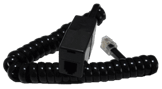 RJ10 Extension Lead (RJ10 Male to RJ10 Female), BLACK, 1.5M
