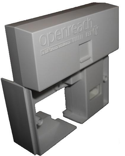 Mk1 VDSL/ADSL Faceplate